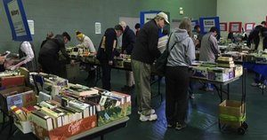 Picture of Book Sale Open for Business